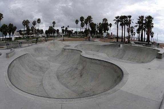 Für Bowlskater, Venice Beach Skate-Park