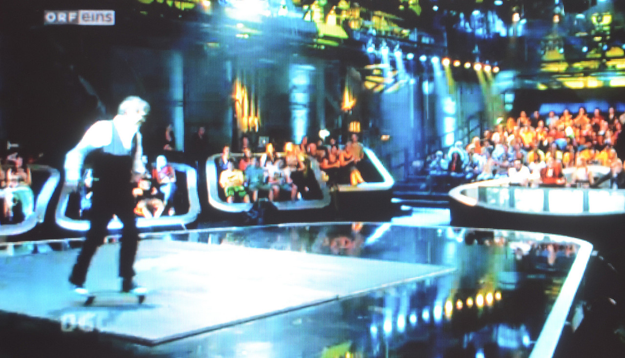 Ca. 500 Zuschauer im Saal und Millionen Zuschauer vor dem Fernseher.