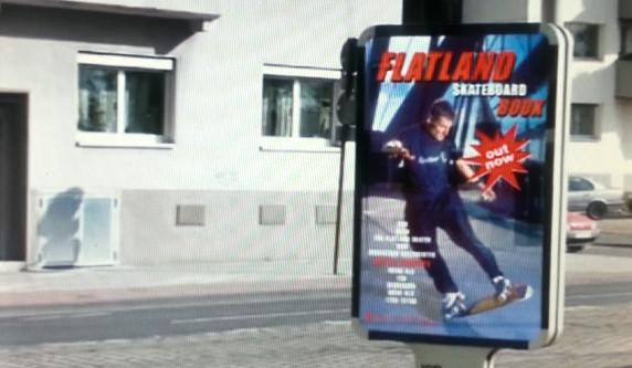 Flatland Skateboard Buch von Guenter Mokulys