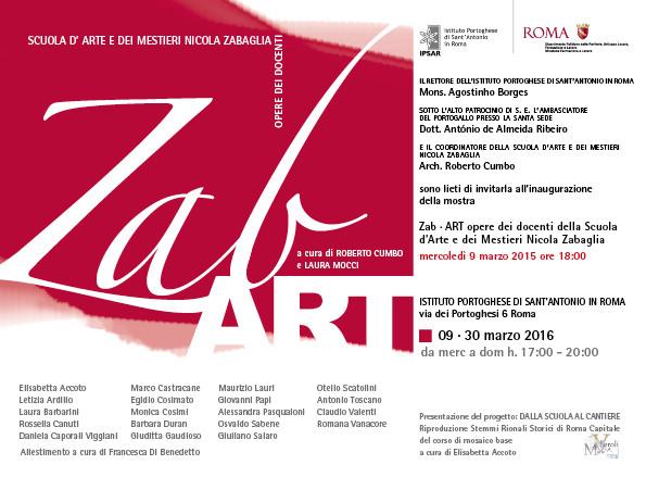 Zab Art 2016 - Programma e artisti in mostra