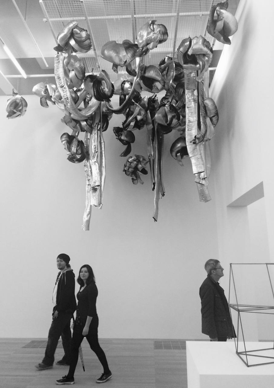 Marisa Merz, Untitled (living sculpture). Foto di Alessia Paionni