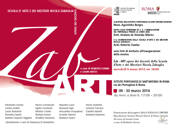 Zab Art 2016 - Programme and artists on display