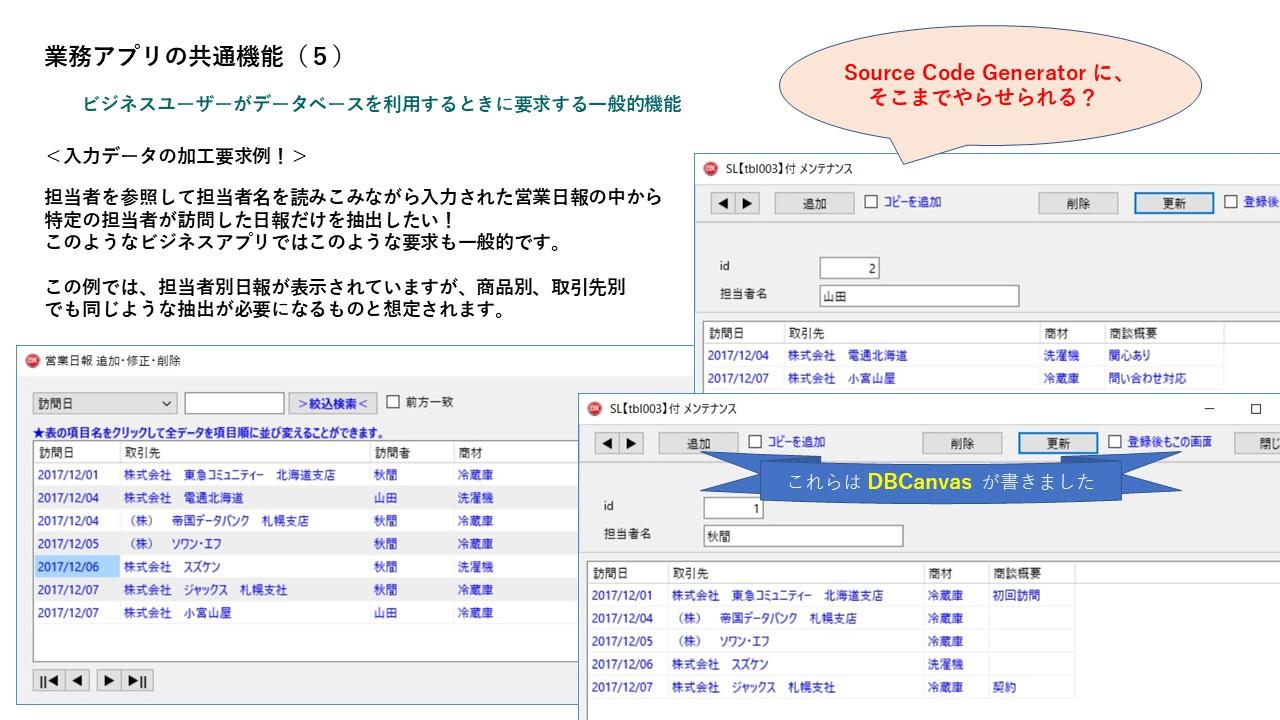 業務アプリに要求される共通機能 - nasunobu ページ!