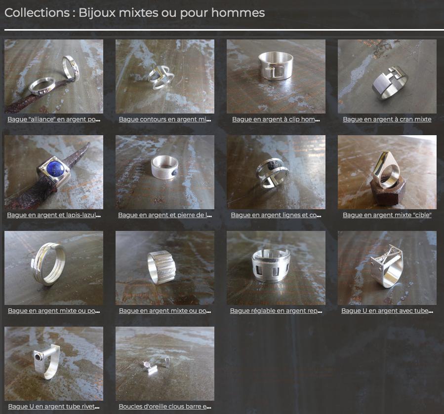 St-Valentin pour tout.e.s. : bijoux mixtes chez SL-Créations