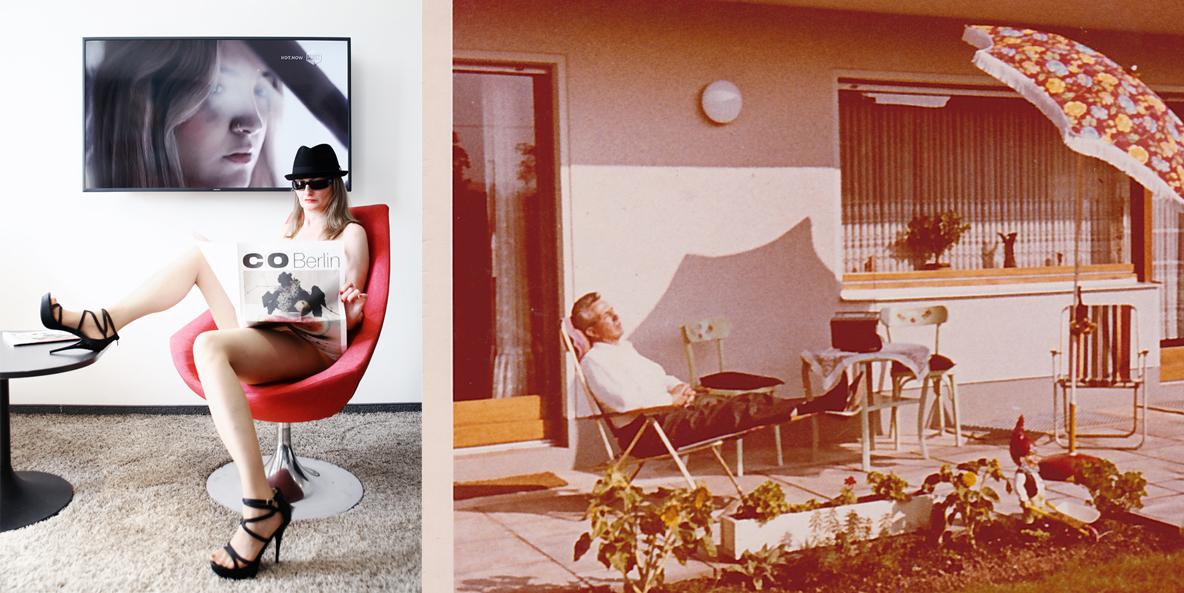 Entspannung gestern und heute - verschiedene Idyllen