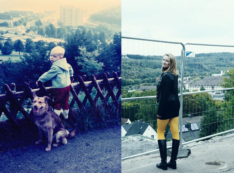 Bömberg, Iserlohn - etwa 50 Jahre liegen zwischen diesen beiden Bildern