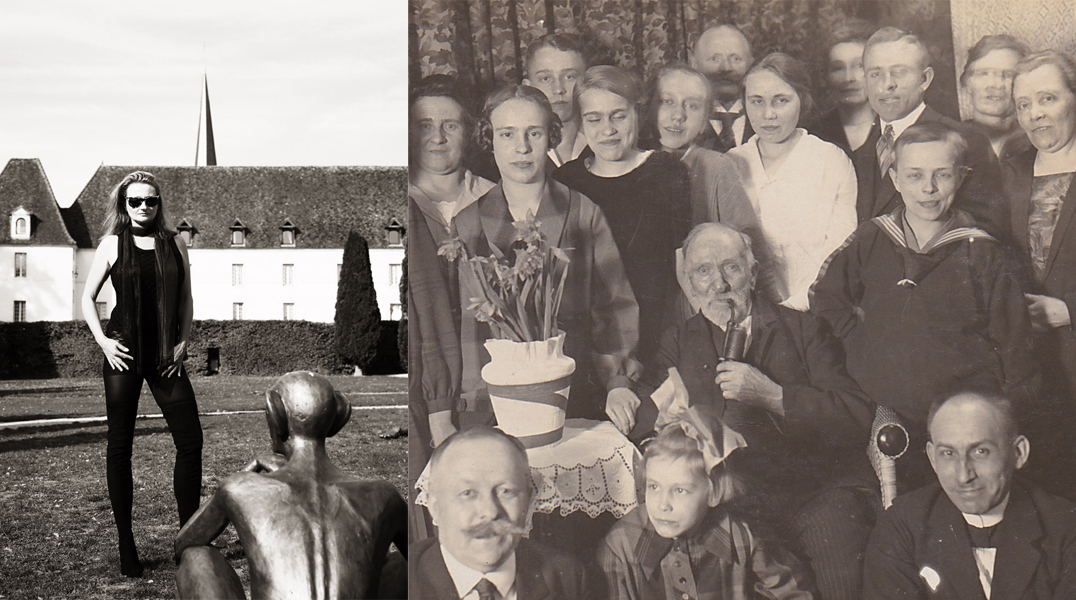 Sedan und die Geburt eines Nationalstaats; Elvira in Frankreich und Familie meiner Mutter mit Opa Werner, einem Veteran von 1870/71