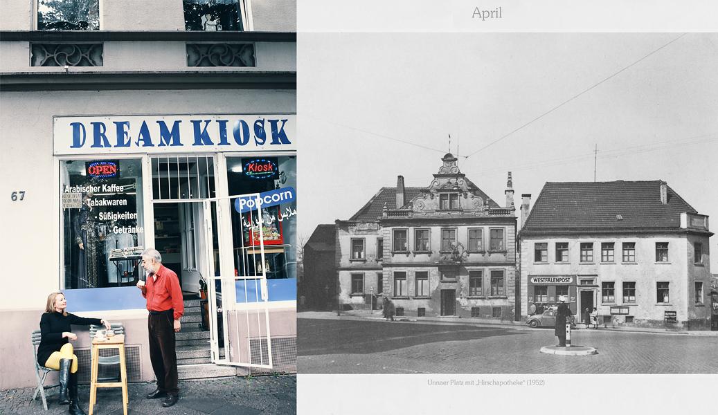 Mendener Straße, Iserlohn, vor dem Haus, in dem Elvira einst mit ihrer Schwester ein Zigarettengeschäft betrieb