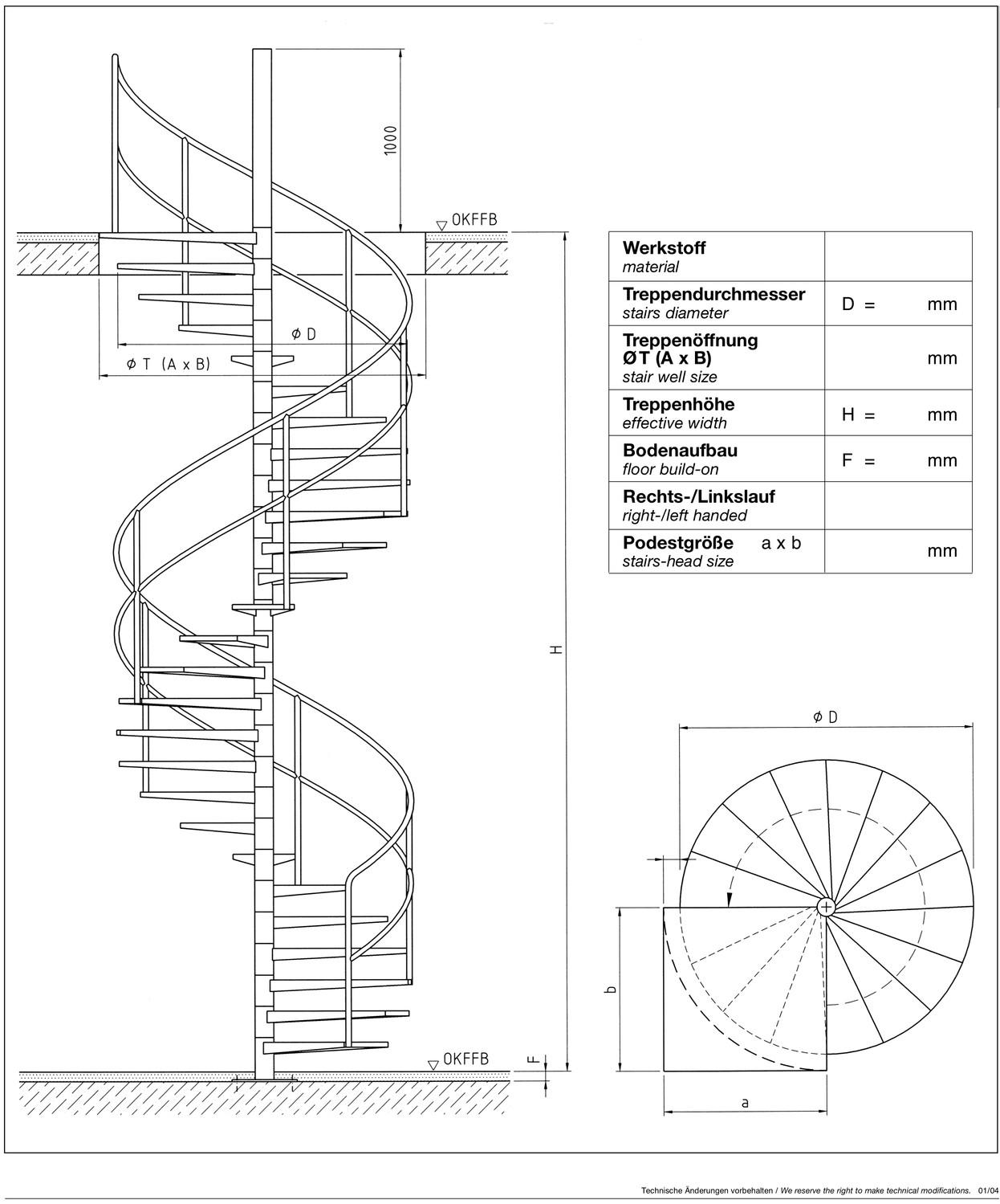 c04 spindeltreppe vielberth fritz gmbh co kg. Black Bedroom Furniture Sets. Home Design Ideas