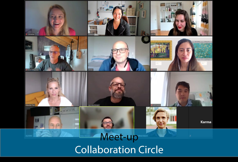 2. Collaboration Circle - DatB did it again, and it was great to be part of it.