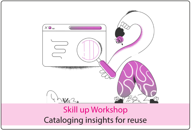 Cataloging insights for reuse