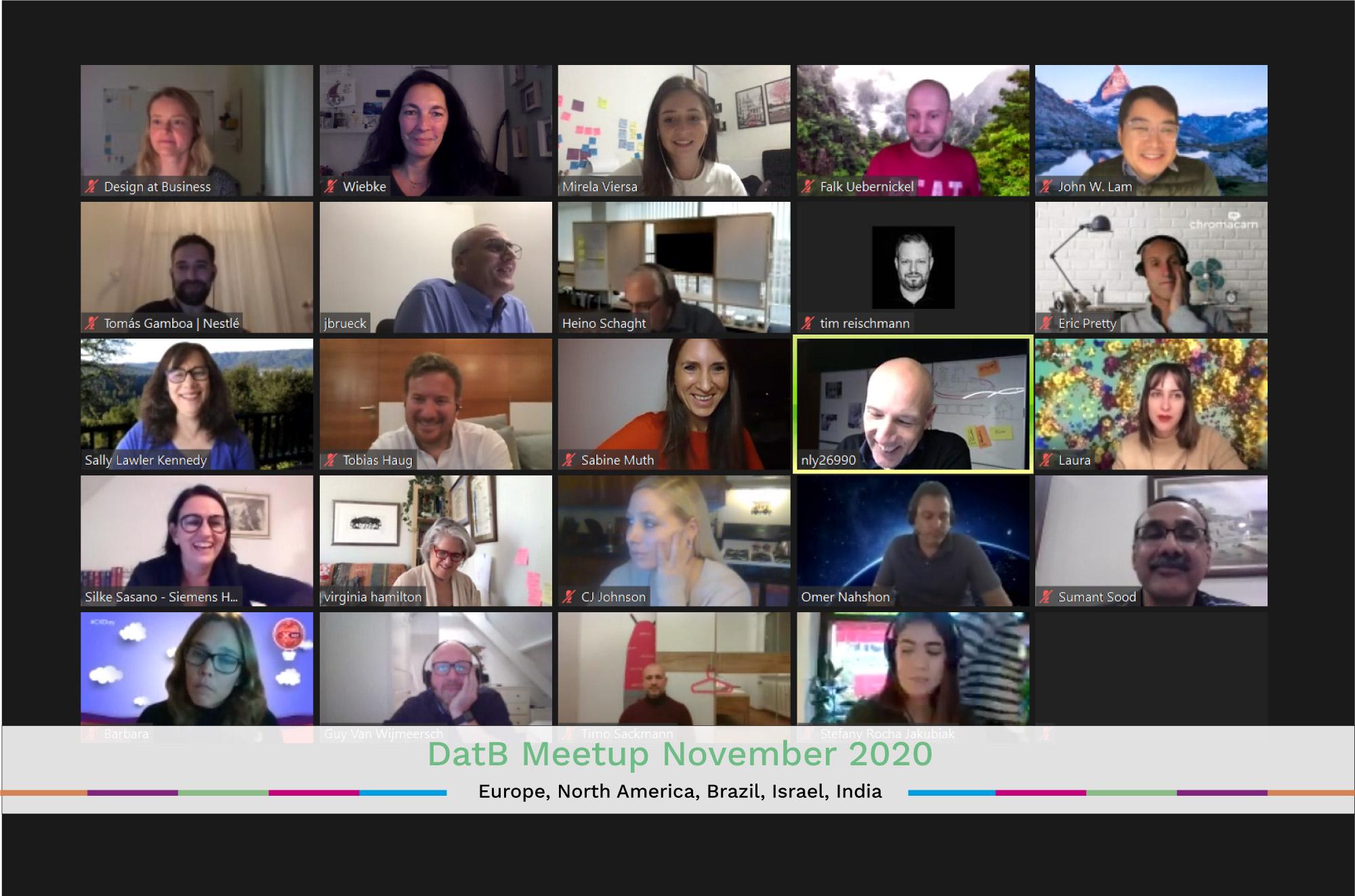 Global Virtual Meetup November 2020