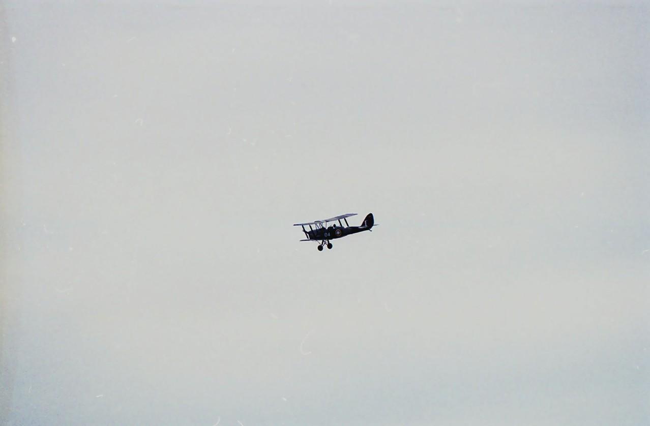 Tiger Moth Schulungsflugzeug