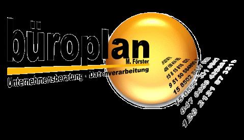 Büroplan M. Förster - Unternehmensberatung - Datenverarbeitung