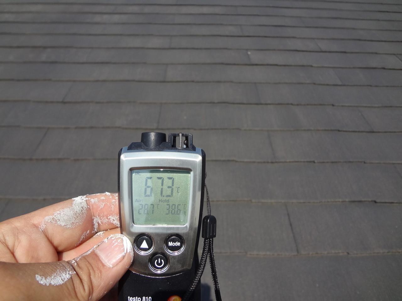 塗布前生地温度67.3℃