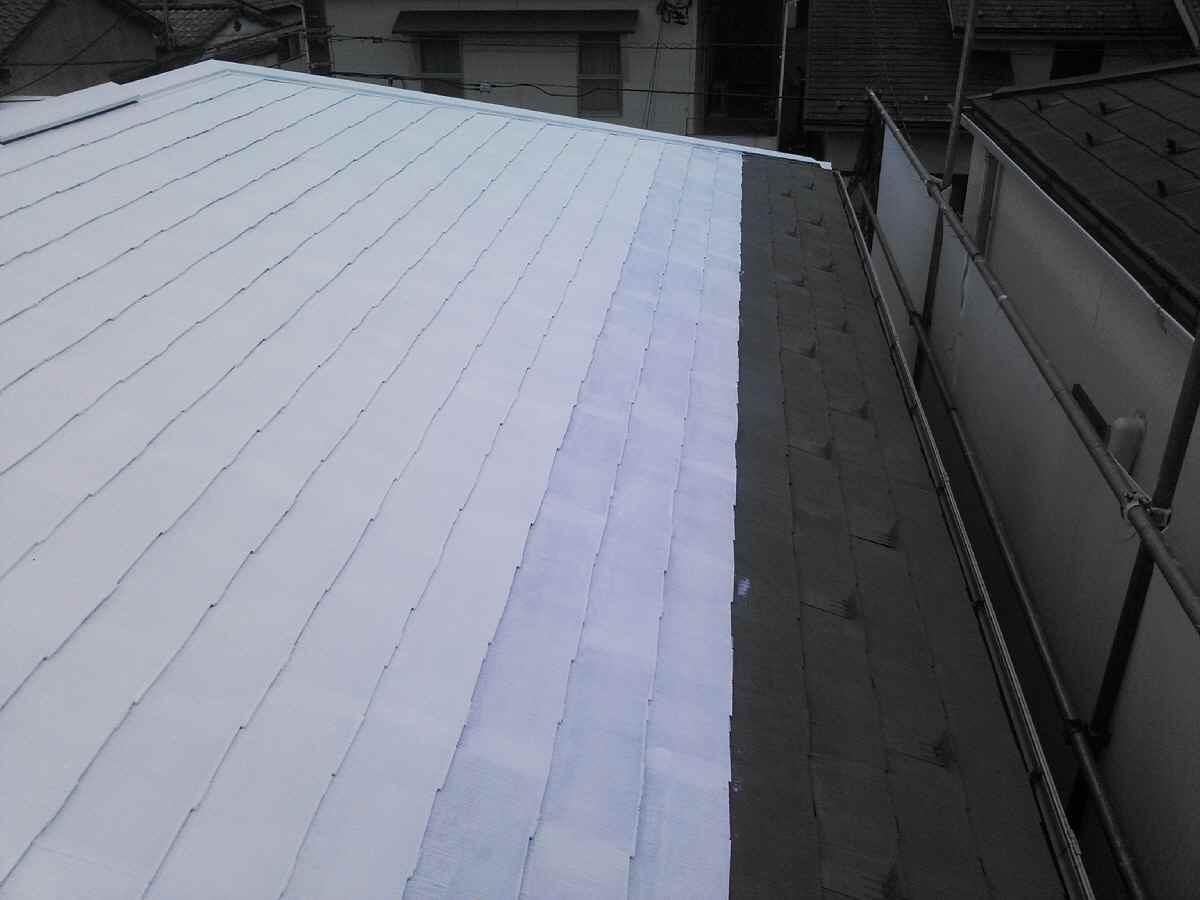 キルコート2層目塗布