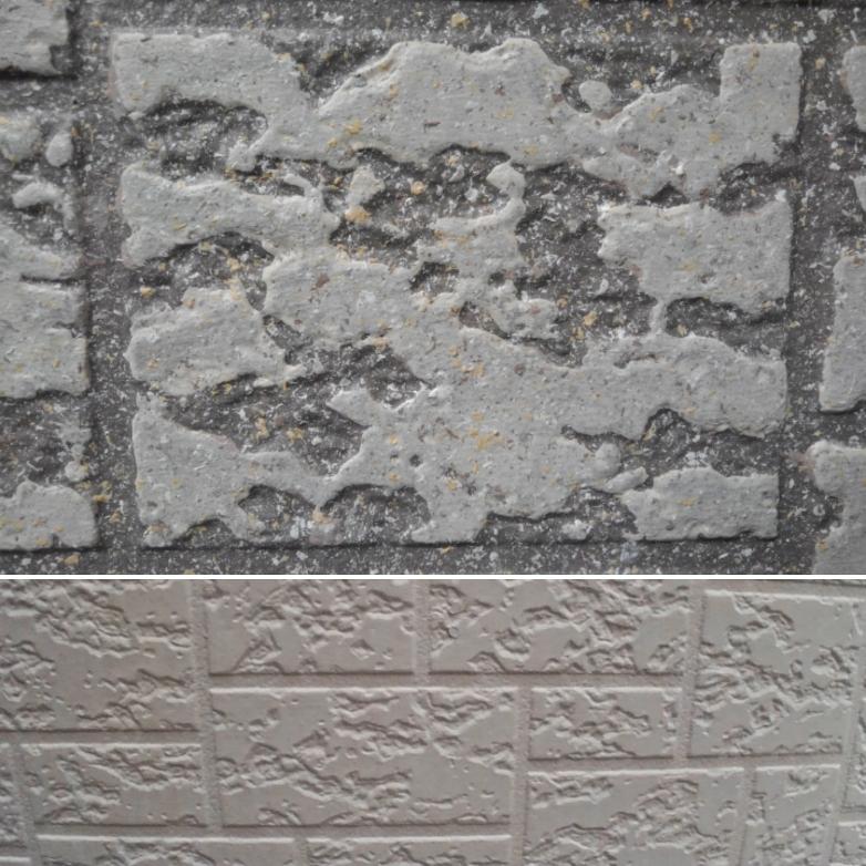 同じサイディングパネルもトリプルトーンで深みのある意匠に。