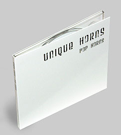"CD Cover ""Pop Horns"""
