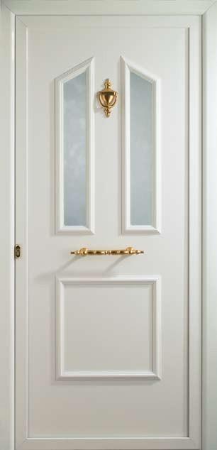 Vidrio sin barrotillo en puerta Indo
