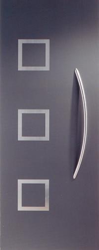 Panel de puerta moderno