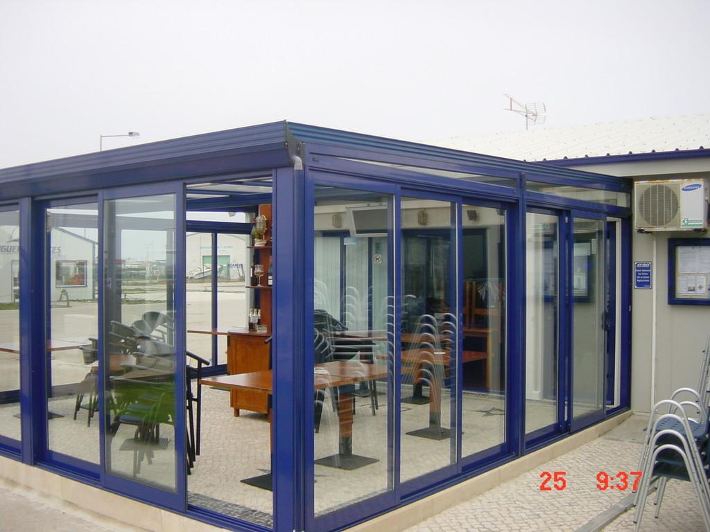 Aperturas correderas para techo móvil