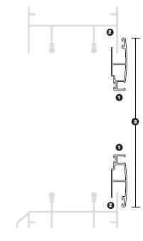 Detalle medición y montaje de la mosquitera corredera