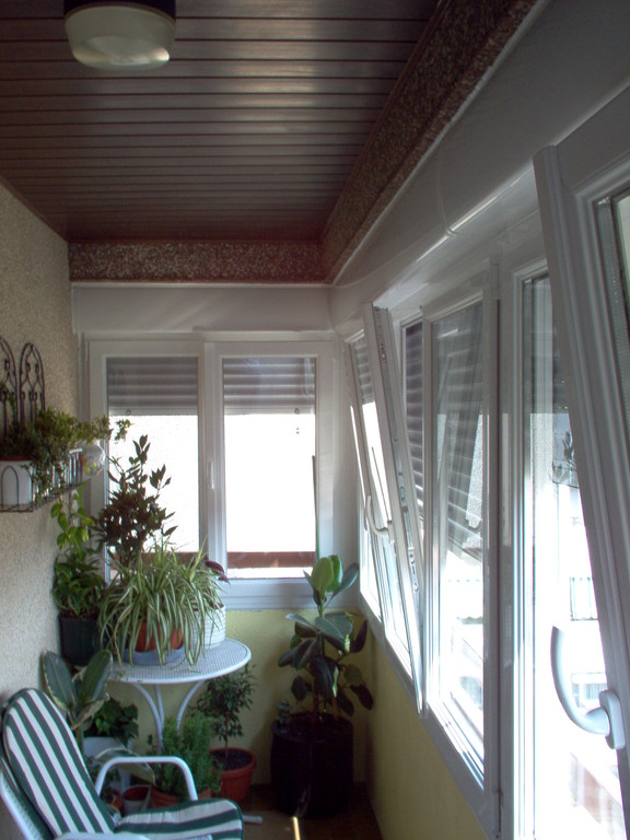 Cerramientos de terraza aluminios no in gar s - Cerramientos de pvc para terrazas ...