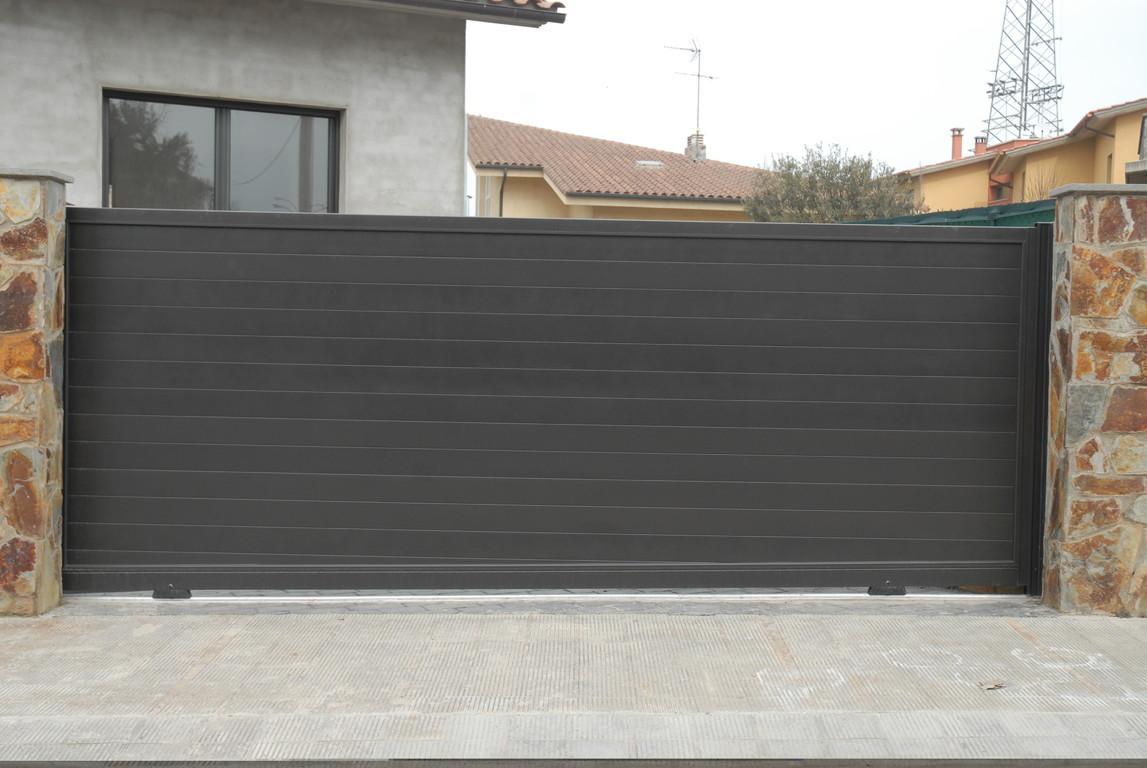 Puertas De Jard N Seccionales Aluminios No In Gar S ~ Puertas Jardin Aluminio Precios