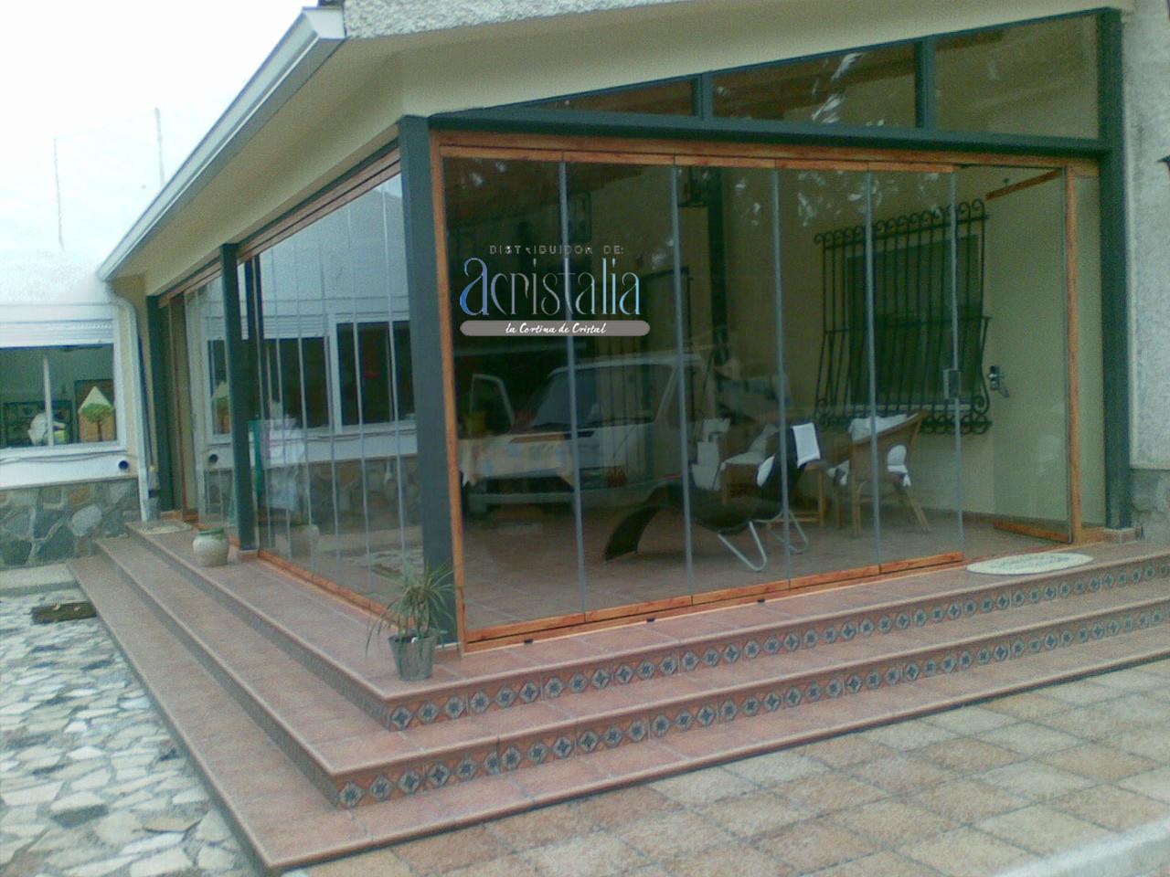 Cortavientos de vidrio regulables para terrazas aluminios no in gar s - Cerramientos plegables de vidrio ...
