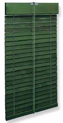 Persiana de cadenilla verde