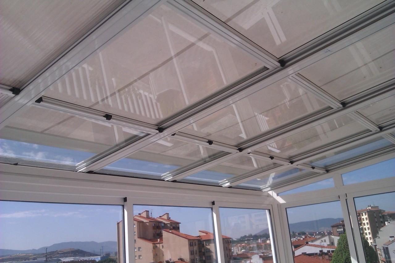 techos móviles cristal Zaragoza