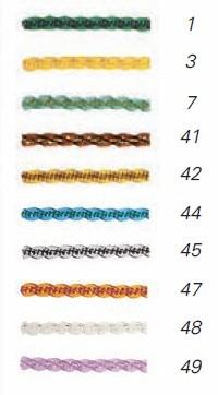 Colores de la cortina antimoscas de plástico Manacor
