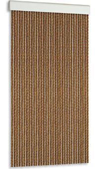 Cortina de plástico antimoscas de tubo bicolor modelo Manacor