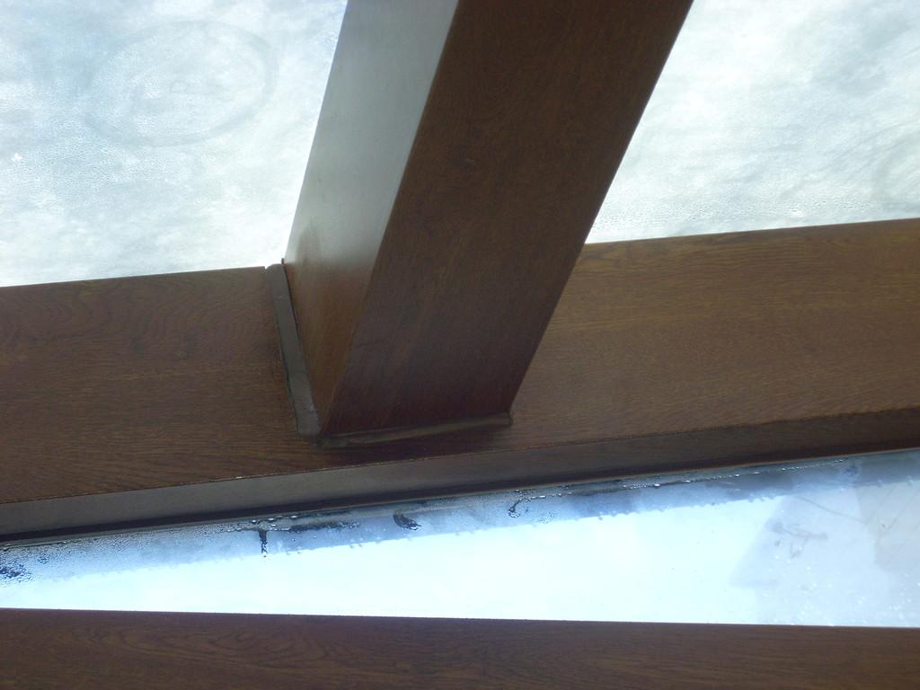 Estructura techo cristal