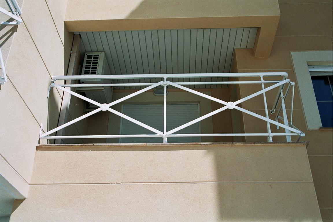Barandilla de aluminio Cruz de San Andrés