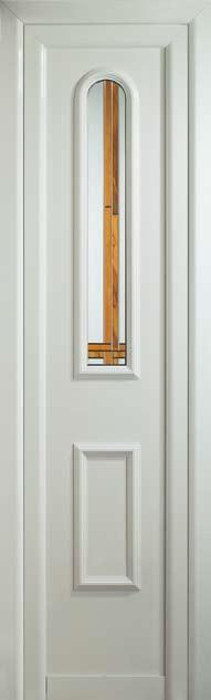 Panel moldurado para fijo Sena con vidrio capilla