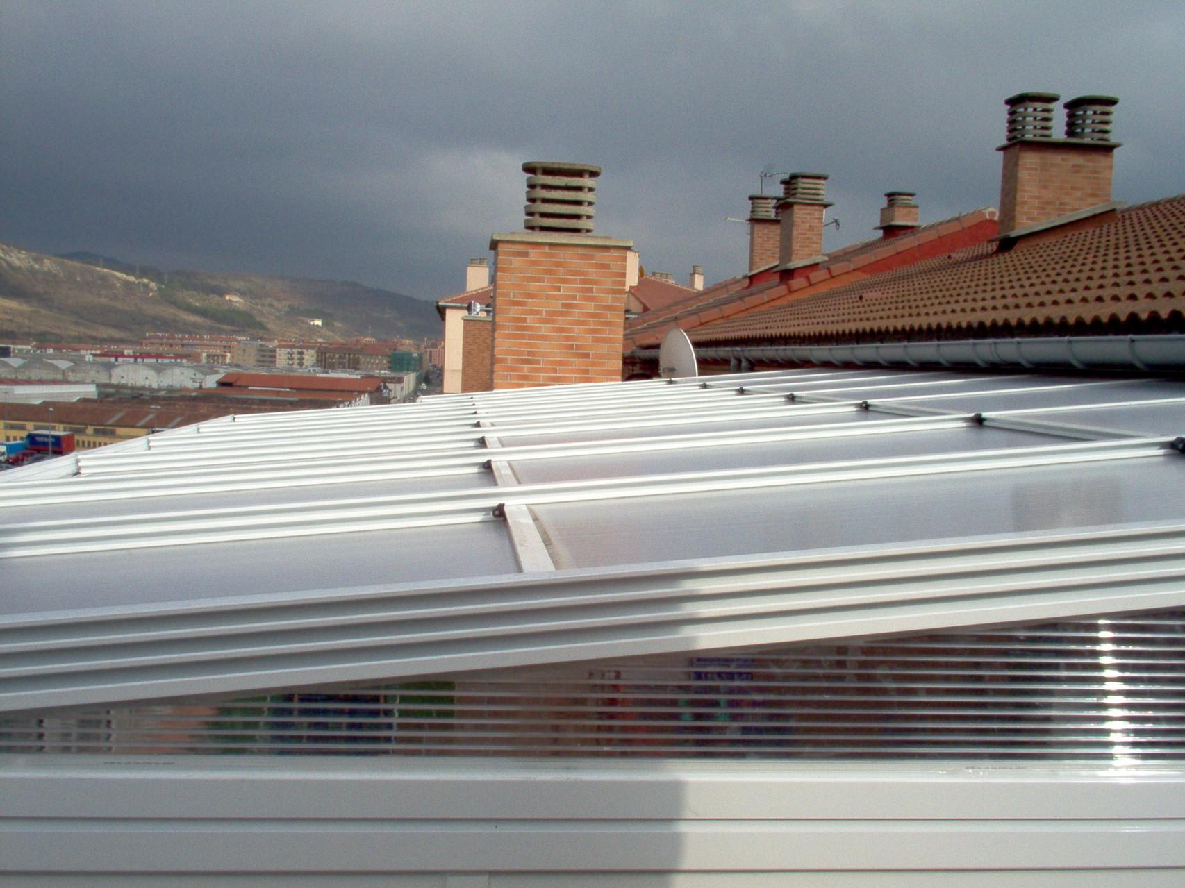 Montaje techos policarbonato