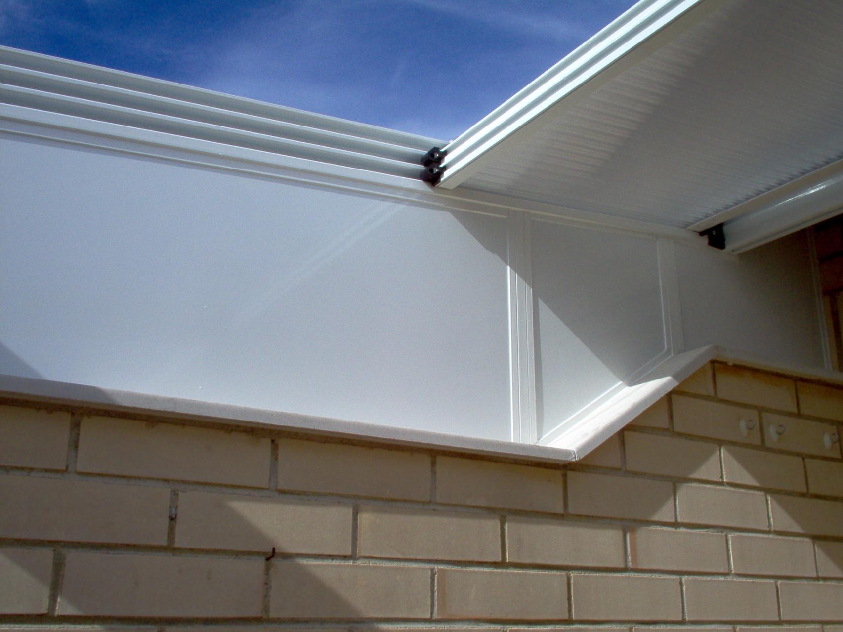 Detalle techo policarbonato