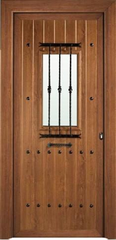 Paneles r sticos aluminios no in gar s for Casas modernas con puertas antiguas