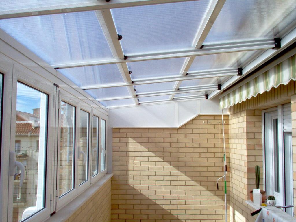 Techos y cerramientos de aluminio y pvc aluminios no in for Techos de tejas para patios exteriores