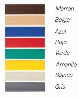 Colores de las cortinas de plastico antimoscas karla