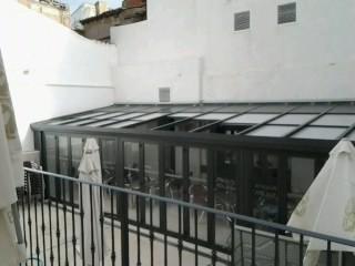 Cerramiento de policarbonato en Donosti