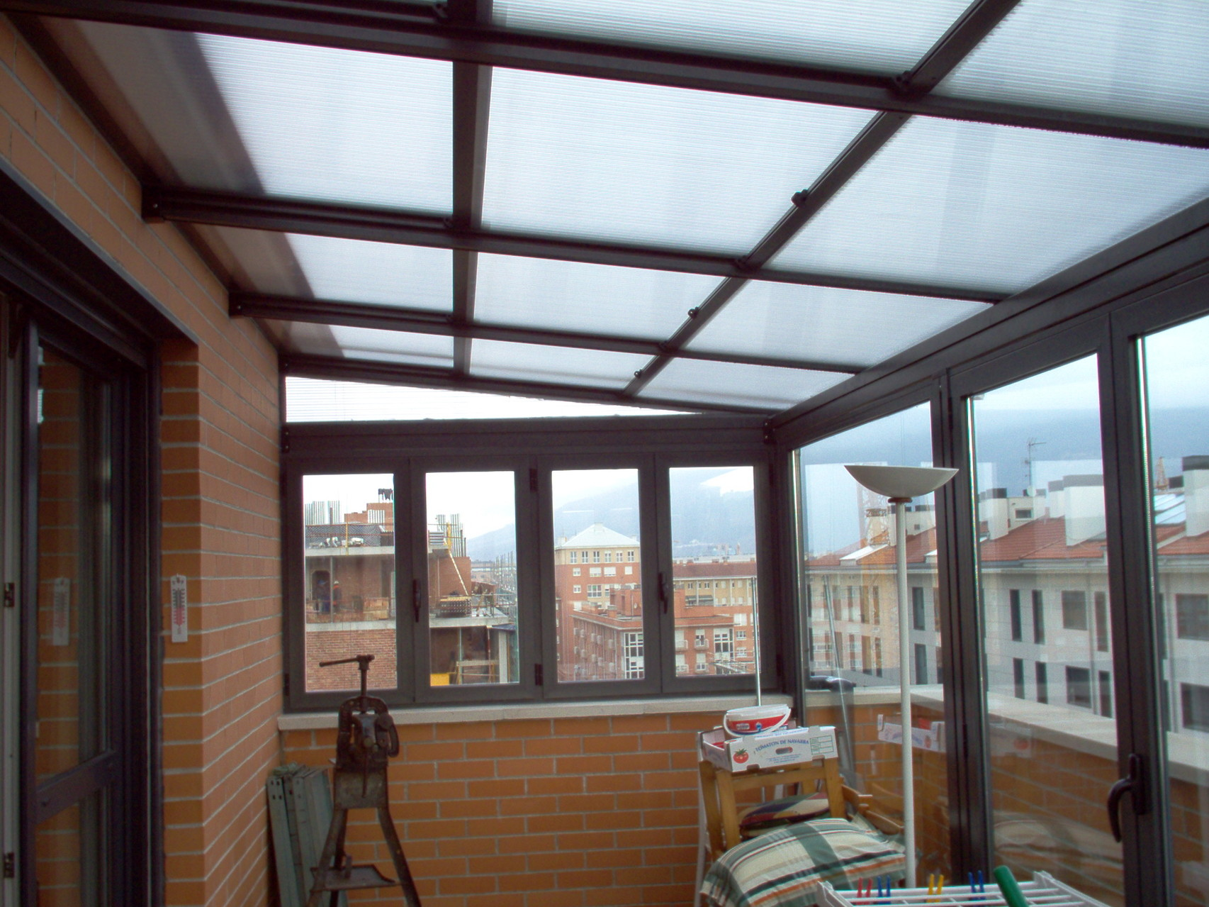 Techo movil en Logroño