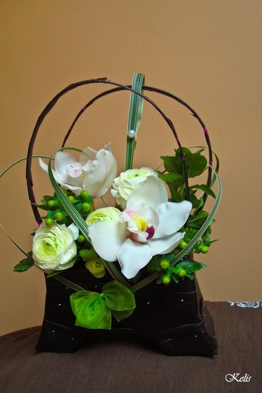 art floral, composition classique
