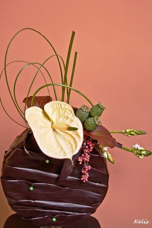 art floral, arrangement floral