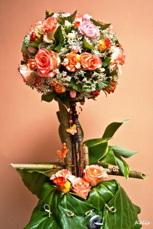 Arbre fleuri