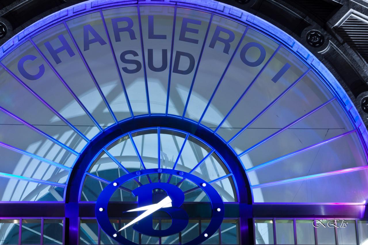Charleroi by night