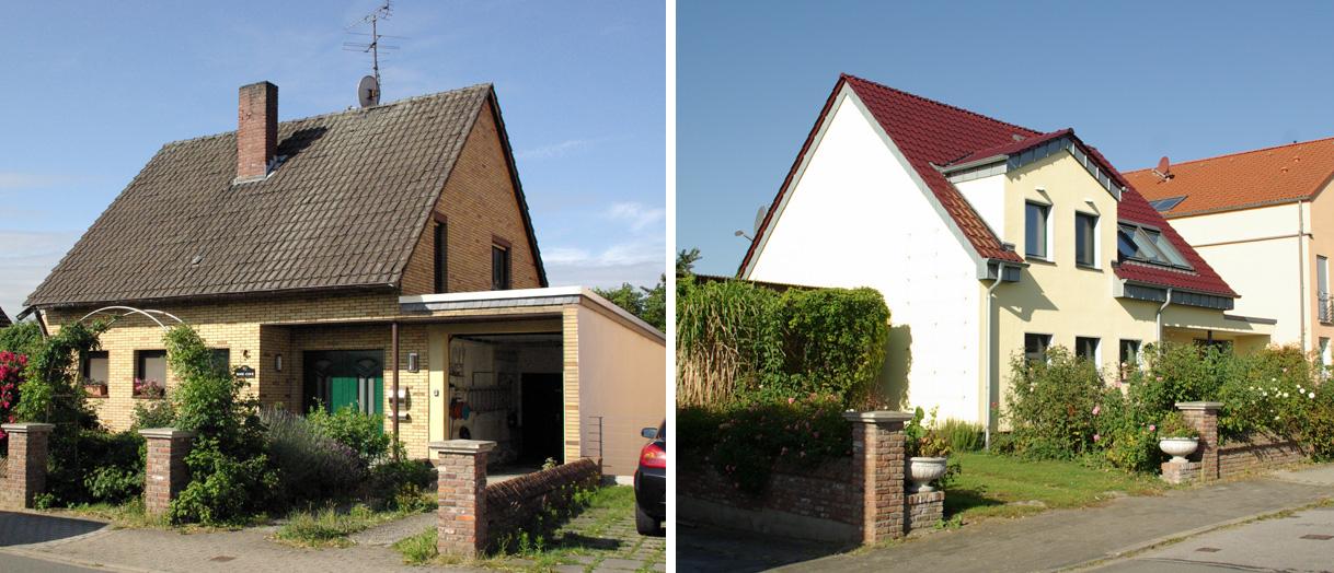 Komplette Haussanierung mit Ausbau des Dachgeschosses, während die Eigentümer im Haus weiter gewohnt haben.