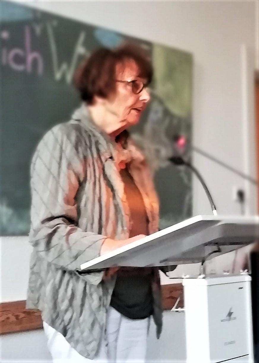 Sie hat alles organisiert und geregelt: Sigrid Dobat