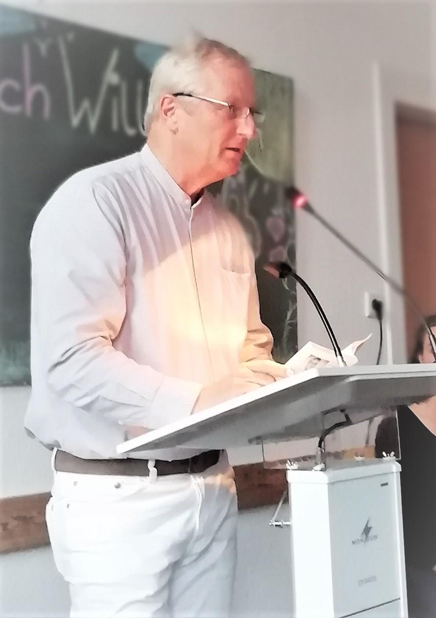 Zog die Zuhörer wie üblich in seinen Bann: Ulrich Borchers